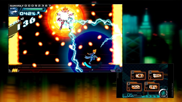 Azure Striker Gunvolt PC Games Screenshots