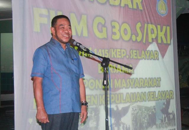 Nobar Di Kodim, Wabup Bilang G.30.S/PKI, Adalah Pengalaman Pahit Bangsa