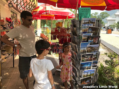 Hong Kong shopping at Ngong Ping village