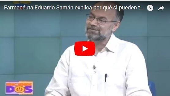 Eduardo Samán dice que tomemos cualquier medicina aunque esté vencida para ahorrar