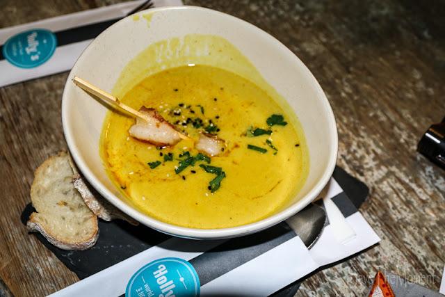 Lemongras Curry Suppe