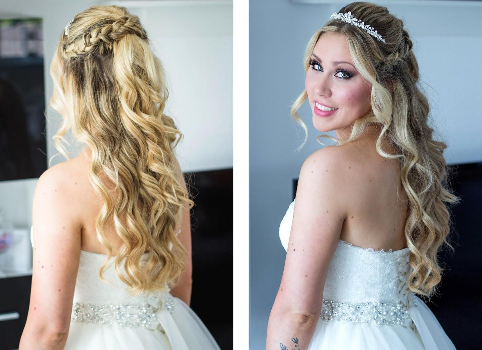 Frisuren Hochzeit Lange Haare Offen Nach Unten Hochzeit Frisuren