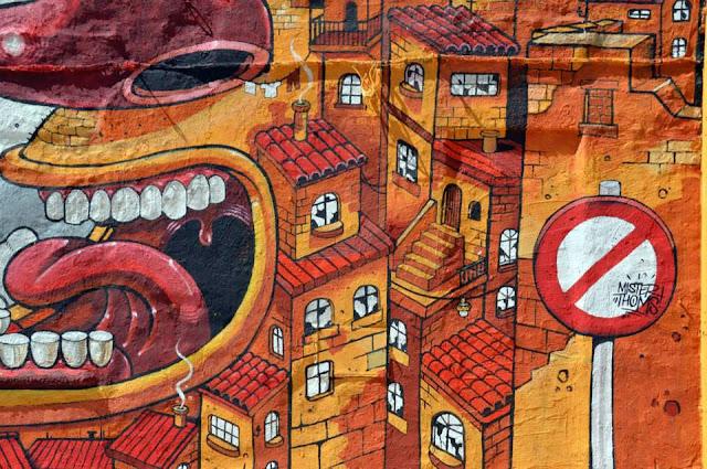 """The Scream Of Vallicaldi"" New Street Art Piece By Mr Thoms In Sicily. 3"