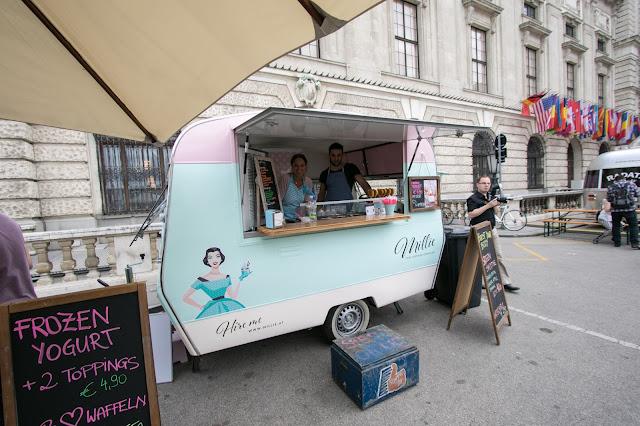 Street food-Hofburg-Vienna