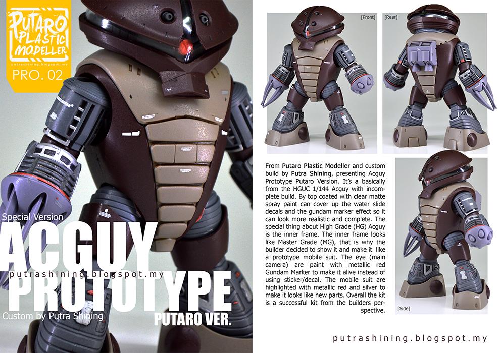 Gunpla Hobby Magazine for Putaro Plastic Modeller