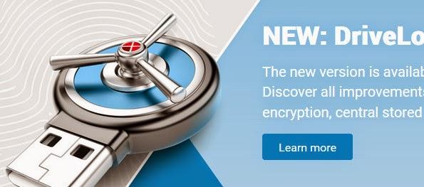 DriveLock USB drive locking app