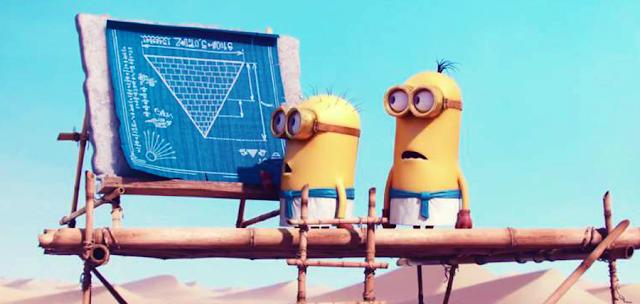 Minionii şi Piramidele