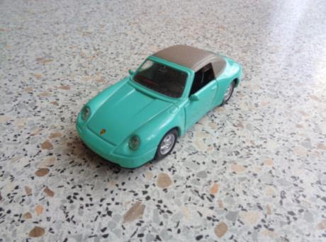 Porsche 911  turkusowy