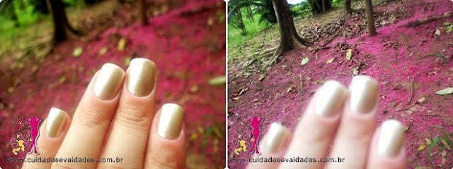 Esmalte UP Colors Cromado Nude