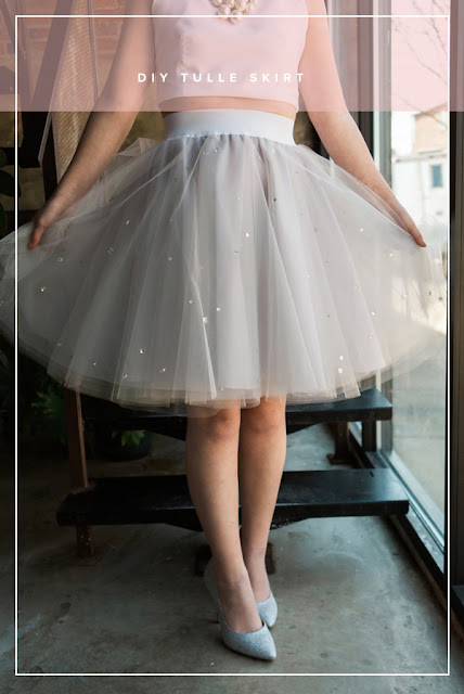 How to make a Tulle Skirt- Ioanna's Notebook