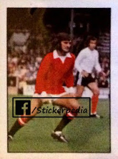 George Best Manchester United sticker FKS 1973 74 top sellers