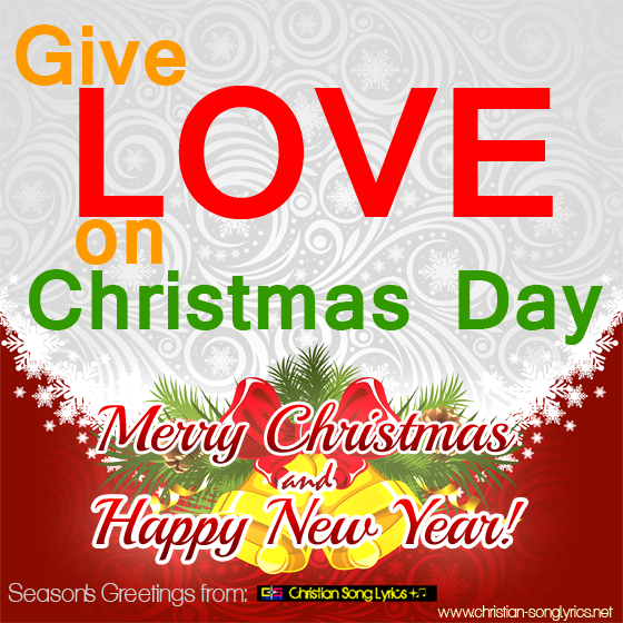 Give Love On Christmas Day.Give Love On Christmas Day Lyrics Song Lyrics