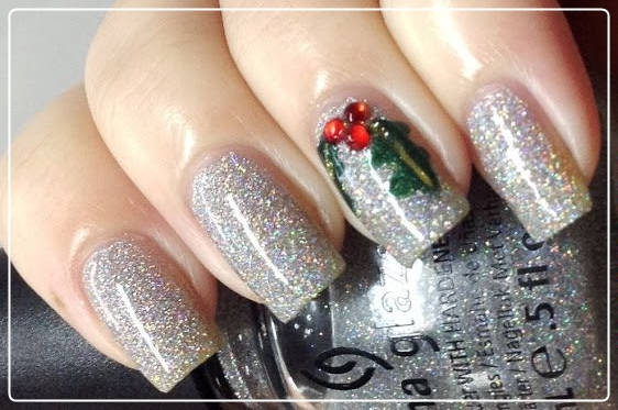Christmas Nail Art Designs, Christmas Gel Nails, Winter nail art, Holiday nail art, Winter nail art ideas, nail art, Makeup