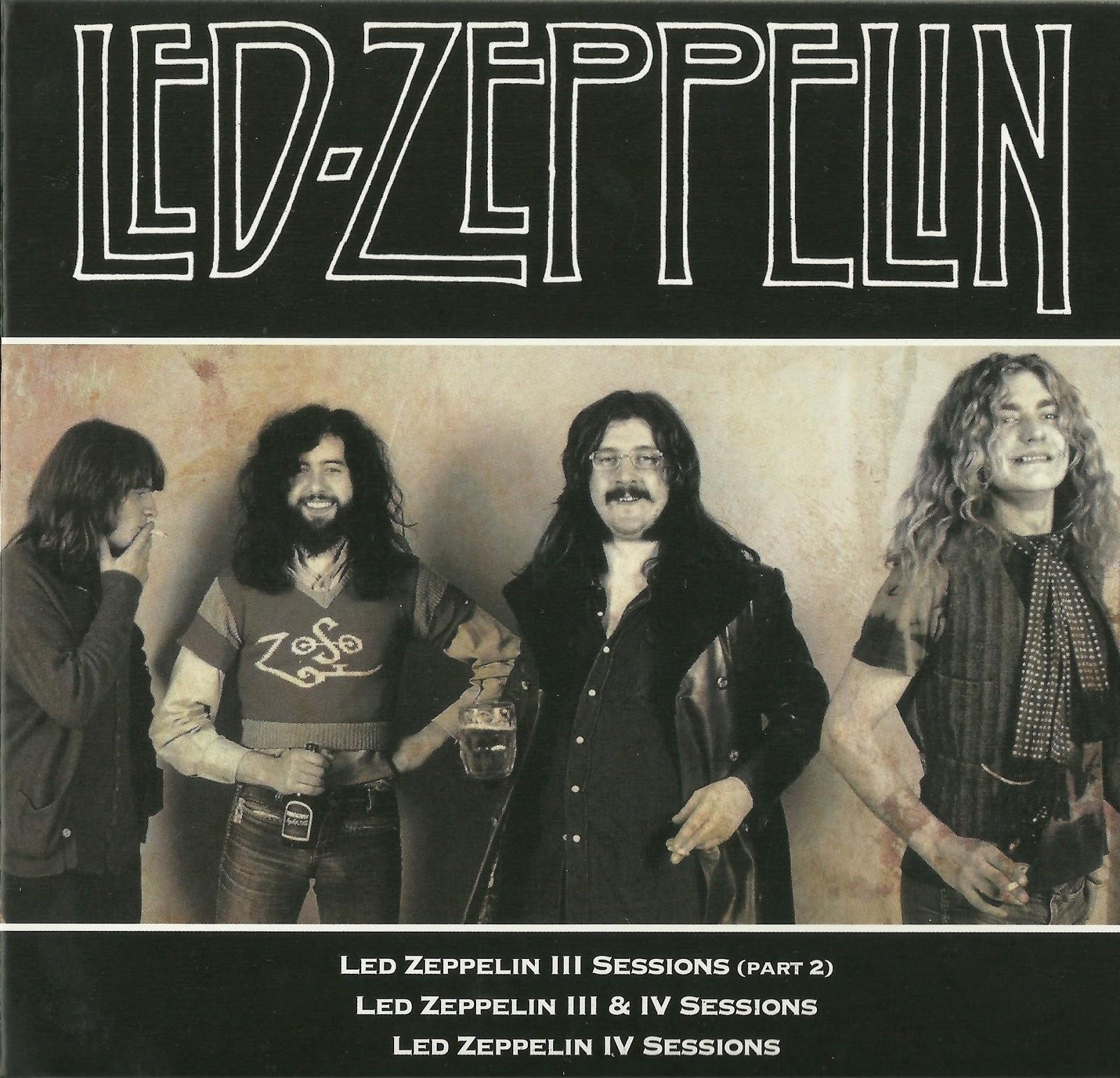 HEAVY-ROCK BOOTLEGS: Led Zeppelin:1968-1980-Studio Magik Sessions