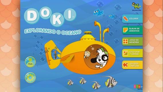 App  Doki Explorando o Oceano