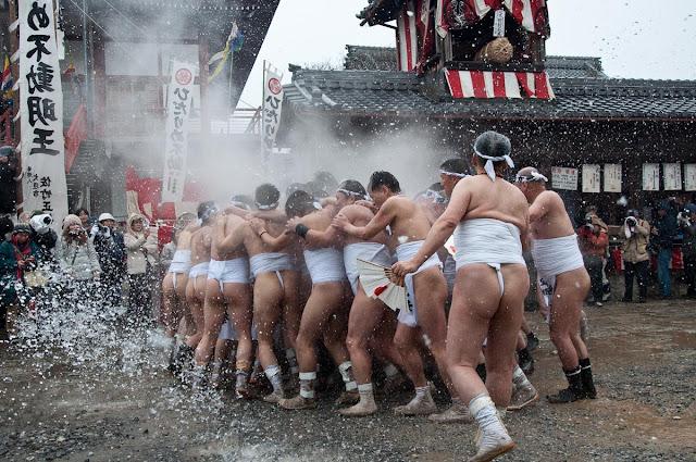 Japanese Naked Festival Hadaka Matsuri