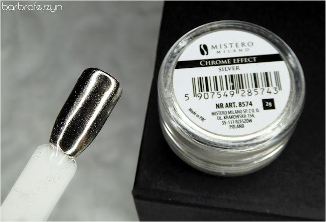 Efekt chromu - srebrny