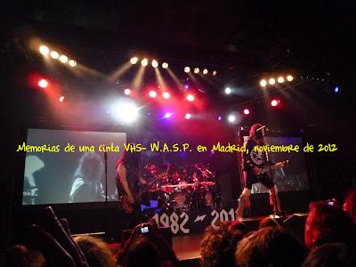 W.A.S.P., en Madrid, 2012, Riviera