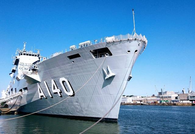 Porta Helicópteros: Marinha do Brasil recebe seu primeiro navio com radar de varredura 3D