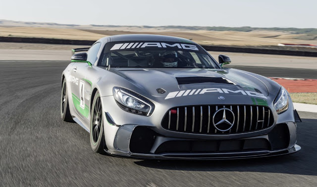 The Mercedes-AMG GT4 will debut in competition the engine 4.0 liters V8 biturbo