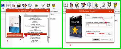 Download keygen VideoPad Video Editor Versi 5 Dan Cara Aktivasinya Agar Menjadi Full Version Terbaru