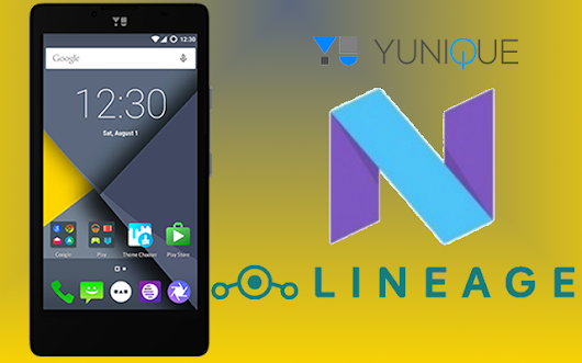 Android Nougat based LineageOS ROM now available for YU Yunique (YU4711, jalebi)