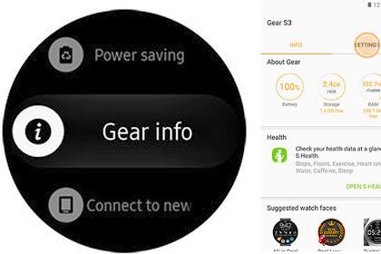 Samsung Gear S3 Update Software