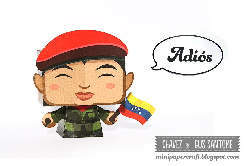Chavez Paper Toy