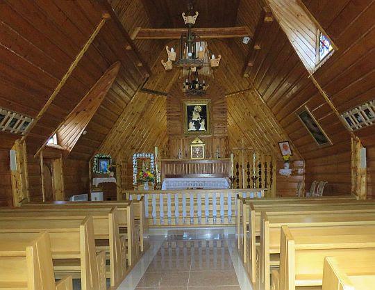 Kaplica Matki Bożej Różańcowej na Gubałówce.