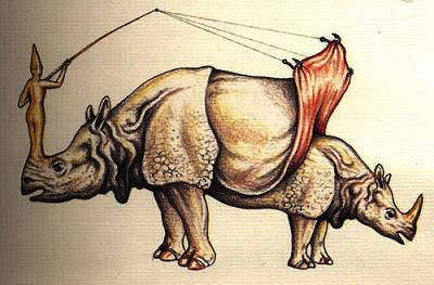 Rhino - Misteri Manuskrip Kuno Codex of Seraphinianus