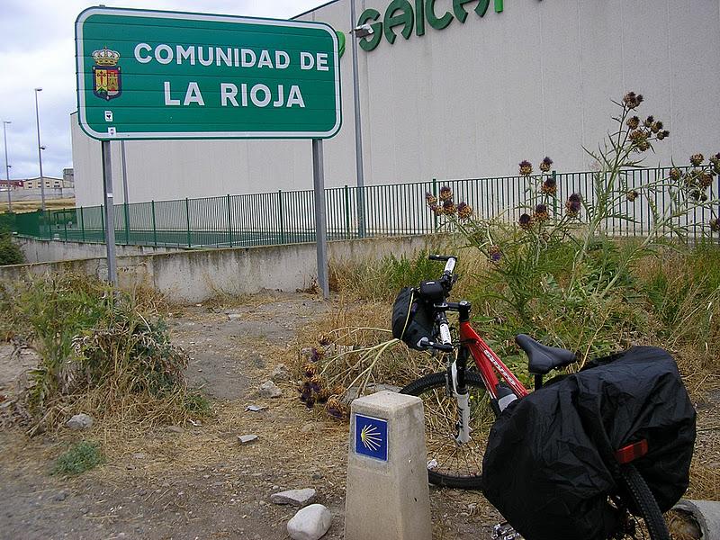 Llegada a La Rioja