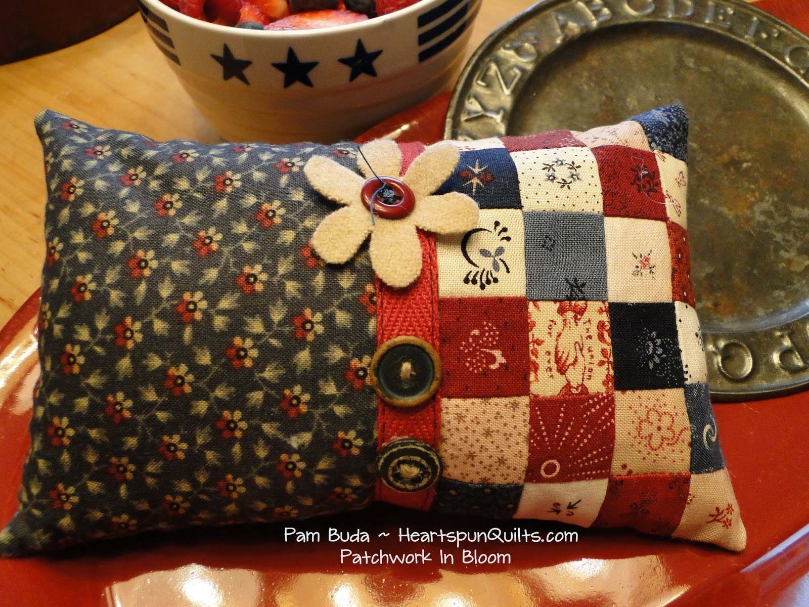 Heartspun Quilts Pam Buda Freebie Patterns