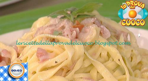 Strettine alla gricia ricetta Facchini da Prova del Cuoco
