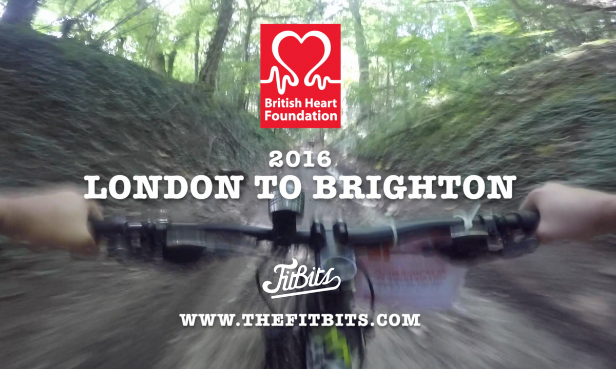 FitBits | Tess Agnew BHF 2016 London to Brighton off road bike ride
