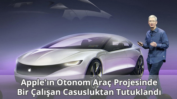 Apple Project Titan Casusluk