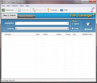 File Scavenger Terbaru
