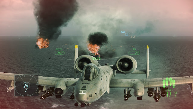 Ace Combat Assault Horizon - Xbox 360 - Captura 1
