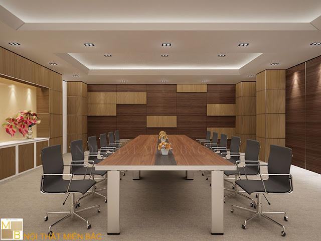 Các lưu ý khi thiết kế nội thất phòng họp chuyên nghiệp
