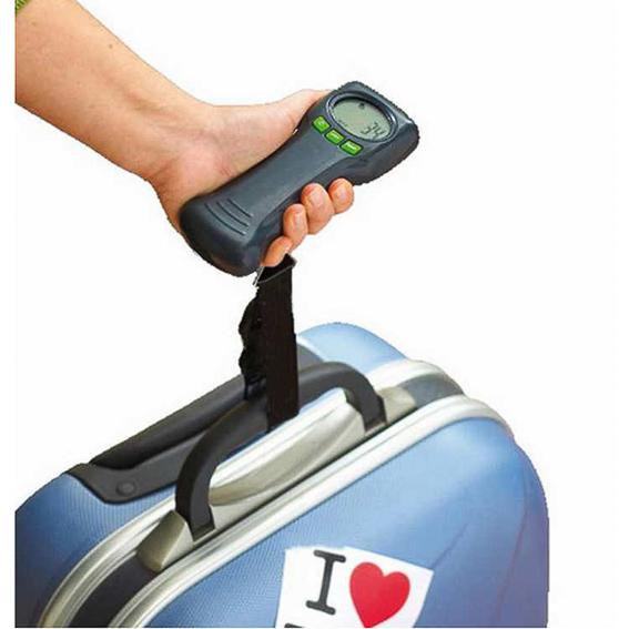 Bascula equipaje. Ideas regalar a viajeros