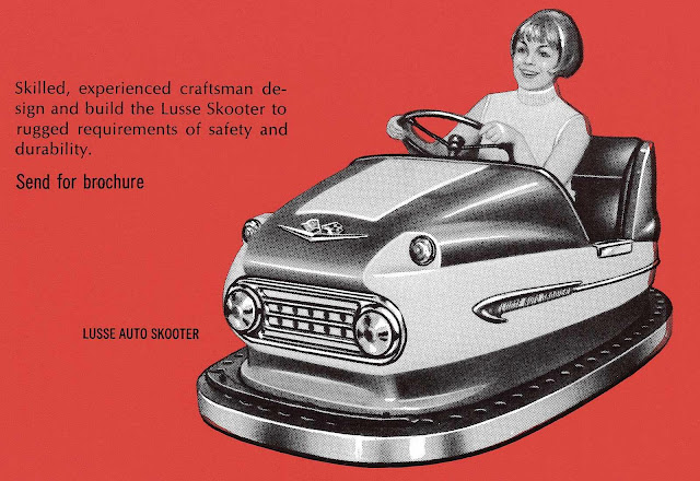 1972 carnival bumper car, Lusse Auto Scooter