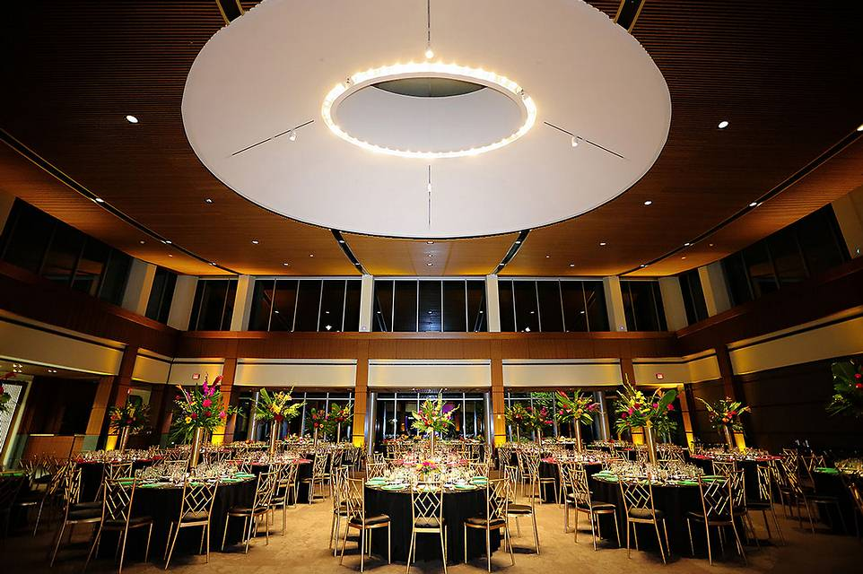 Up Lighting From A Recent Wedding At Newfields Indianapolis Museum Of Art