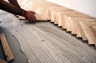 Biaya Pasang dan Finishing Lantai kayu solid Unfinished