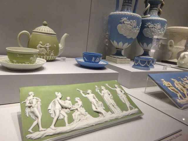 Wedgwood Jasperware in Blue and Green