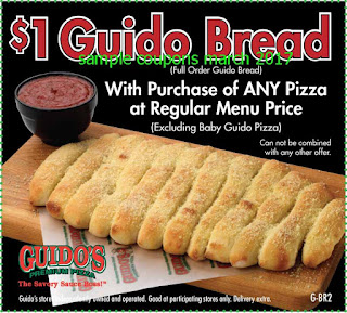 Guidos Pizza coupons march 2017
