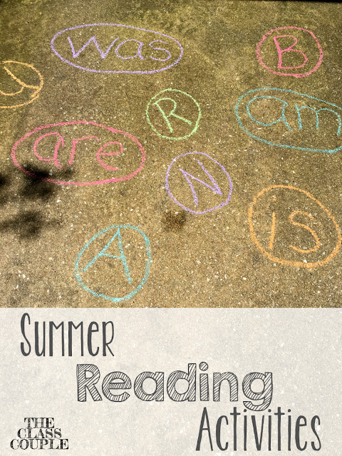 Finding fun ways to read during the summer is a great way to keep your students and children reading all summer long so they don't have the summer slope!