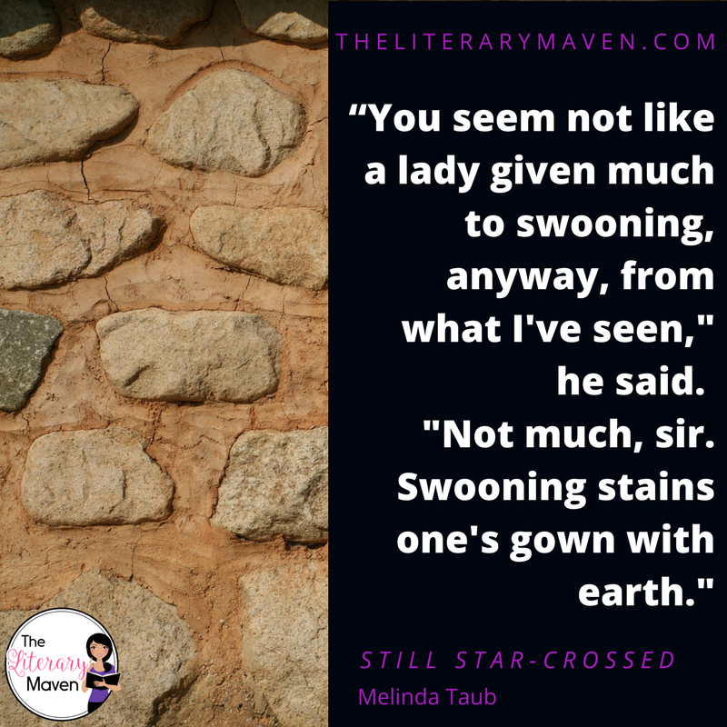 On My Bookshelf: Still Star-Crossed by Melinda Taub - The