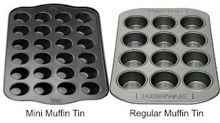 Mini Muffin Tin vs Regular Muffin Tin