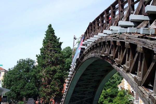 venise italie dorsoduro ponte pont accademia