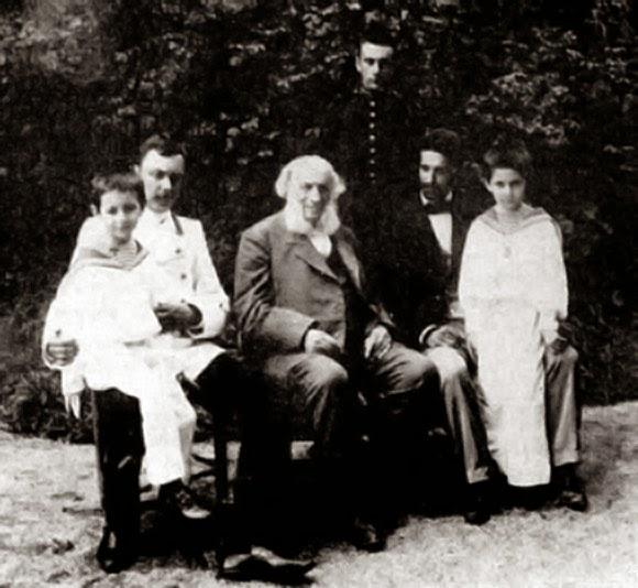 Айвазовский в кругу родных