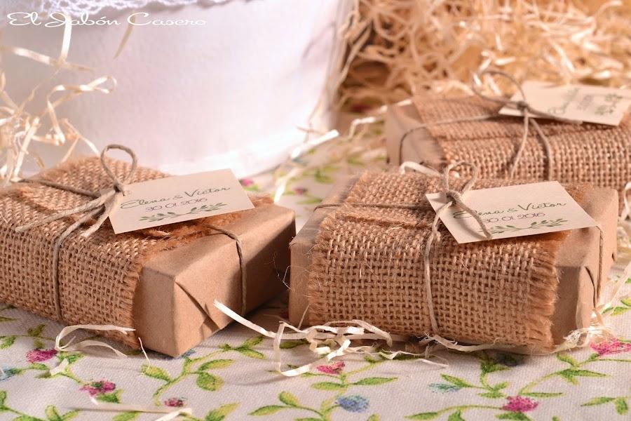 detalles para bodas jabones rusticos personalizados